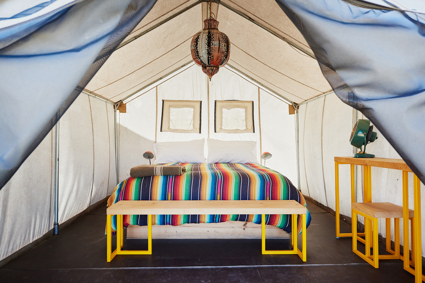 Glamping Tents Make You Feel at Home on the Range